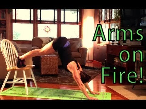 Workout Challenge - Arms on FIRE #2! This is Fit Workouts Thursday Throwdown - YouTube