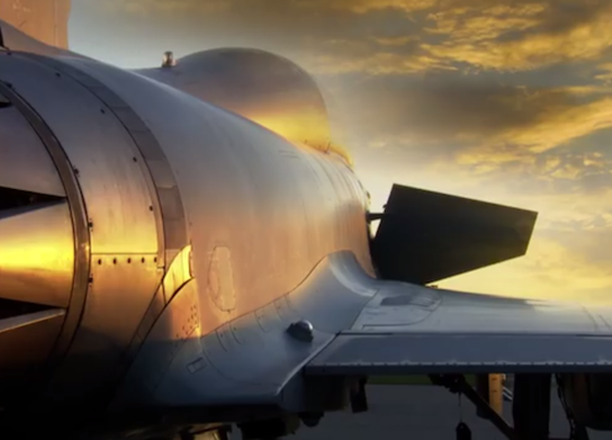 What it's like to ride backseat in a Typhoon fighter jet