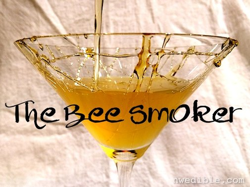 The Bee Smoker Cocktail