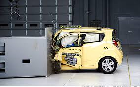 Chevy Spark is the king of safety...sort of