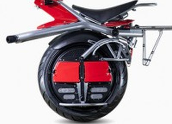 This One-Wheeled Electric Motorcycle Actually Feels ... Safe | Gadget Lab | Wired.com