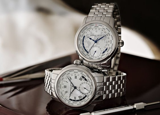 Frederique Constant Worldtimer Collection