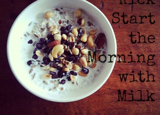Kick Start the Morning with Milk #GotMilkGotProtein | Days of a Domestic Dad
