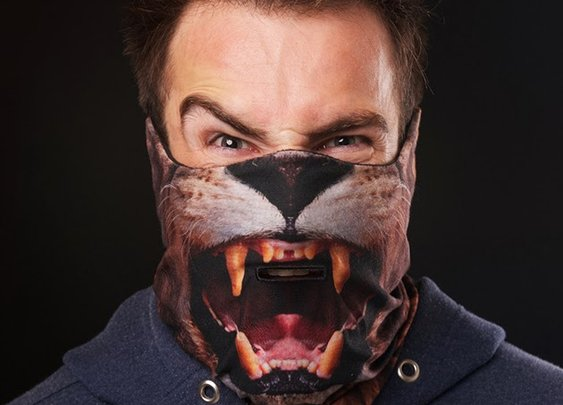 BEARDO LION SKI MASK HD