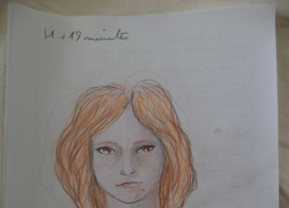 Woman Draws a Self-Portrait Before And After the Use of LSD | WebBurgr.com