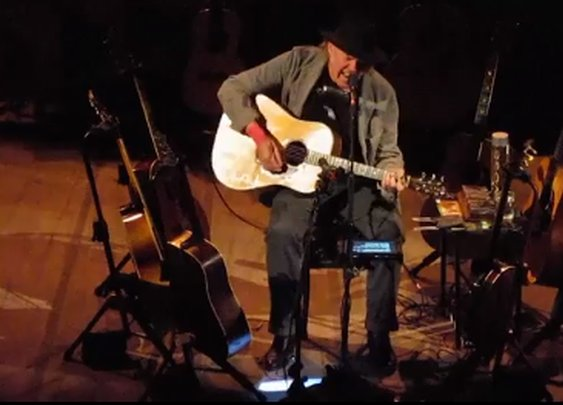 Crowdsourced Concert Film of Neil Young's Great Carnegie Hall Show
