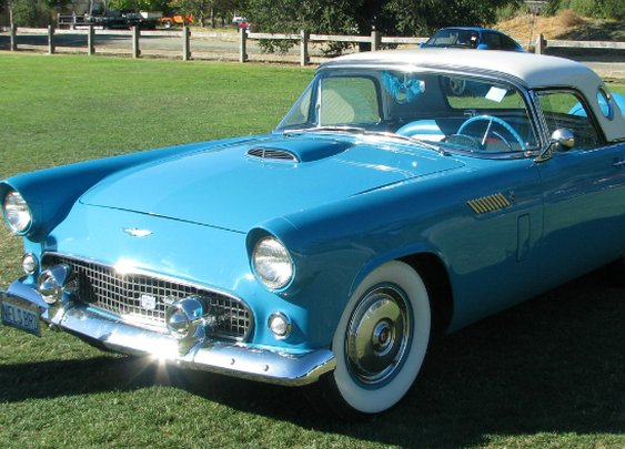 A Look at the Early Generations of the Ford Thunderbird - 1955 to 1966
