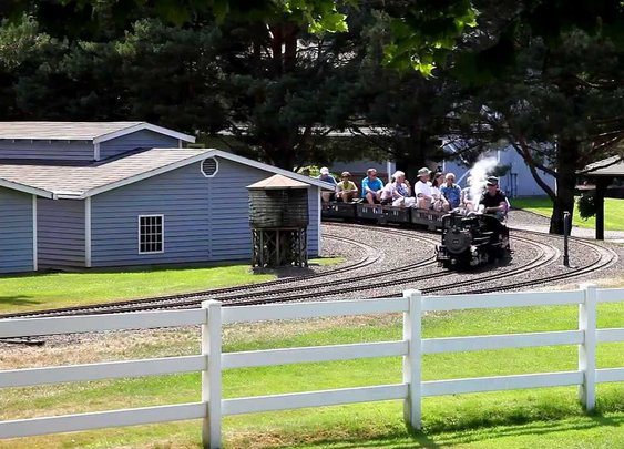 Storybook Estate with Railway Garden in Sherwood, Oregon - YouTube