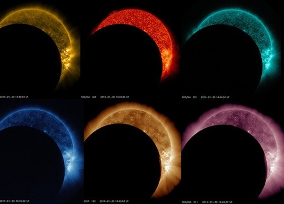 Here's what it looks like to watch a solar eclipse from space