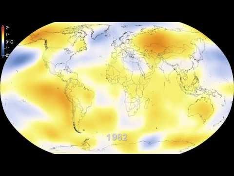 NASA | Six Decades of a Warming Earth - YouTube