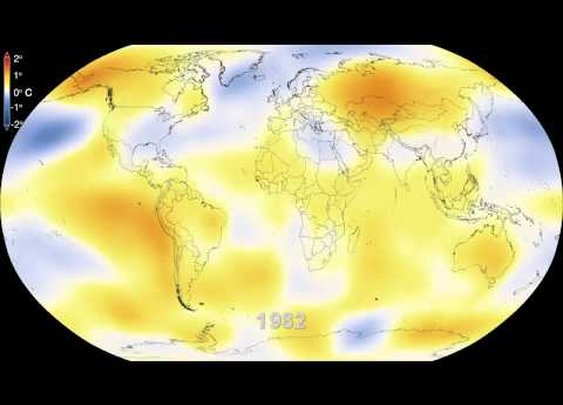 NASA | Six Decades of a Warming Earth - YouTube