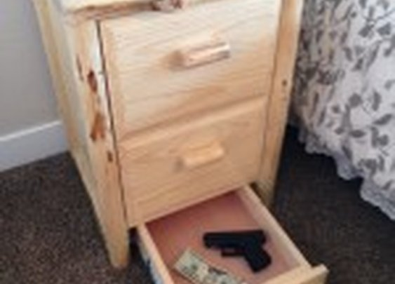 Hidden Stash Nightstand | StashVault