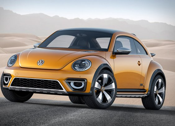 VW's Beetle Dune Concept Is A 21st Century Baja Bug