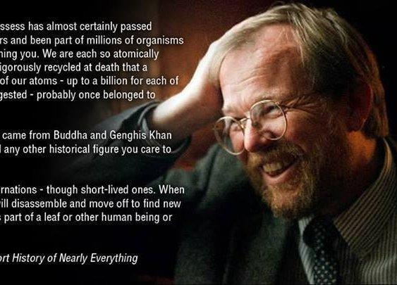Every atom you possess...