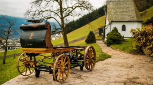 Very first Porsche goes on display after gathering dust for over a century