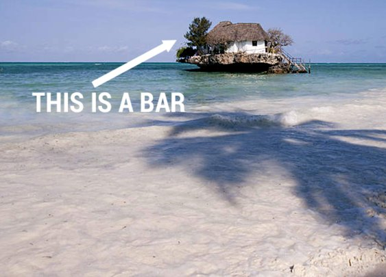 6 Bars in the Middle of the Freaking Ocean