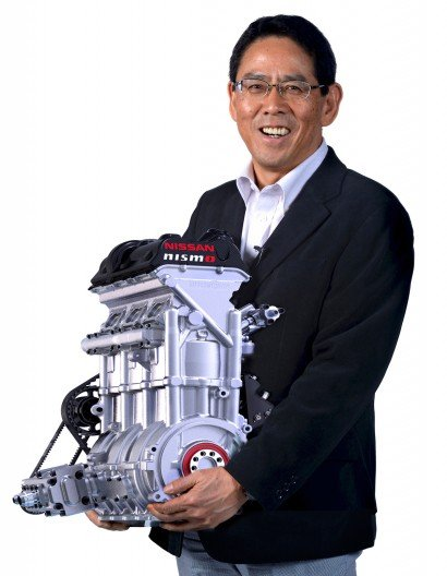 Nissan's new 400 bhp engine fits in carry-on luggage
