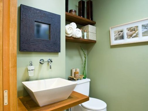 6 Ways to Maximize Space in the Bathroom : Home Improvement : DIY Network