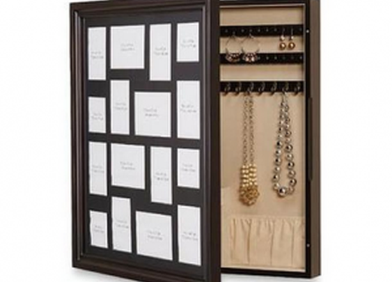 Photo Frame with Secret Jewelry Compartment | StashVault