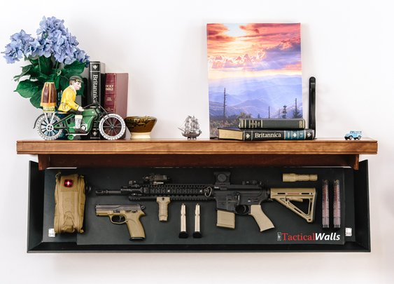 Does your shelf need more gun? Meet the Tactical Shelf