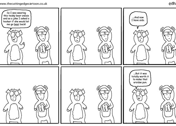 Bear back | The Cutting Edge