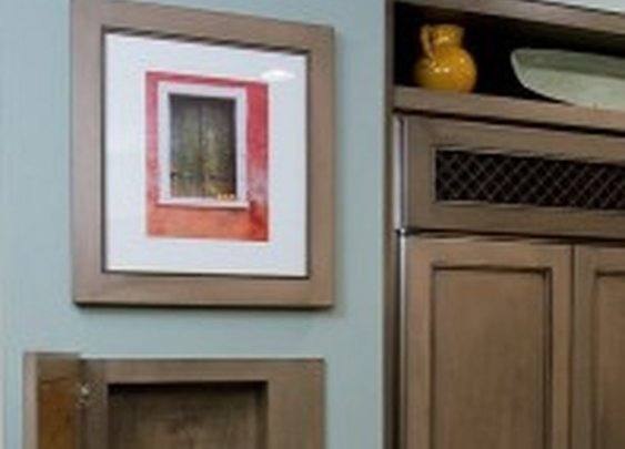 Secret Wall Storage Behind Picture | StashVault