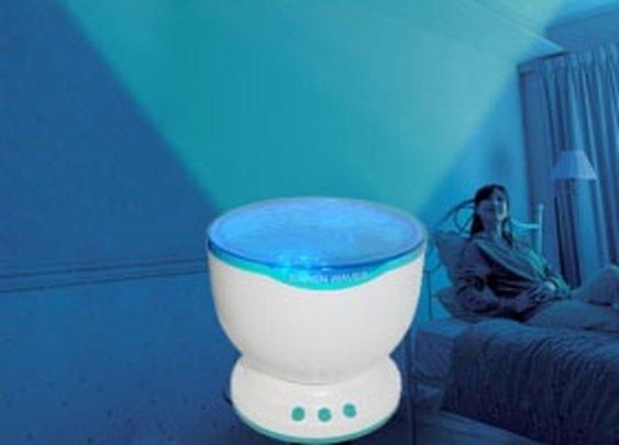 Waves projector speaker