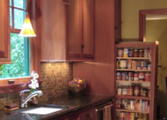Hidden Storage in Kitchen   StashVault