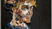 Incredibly Expressive Portraits Created From Plastic, Trash, And Waste Materials - DesignTAXI.com