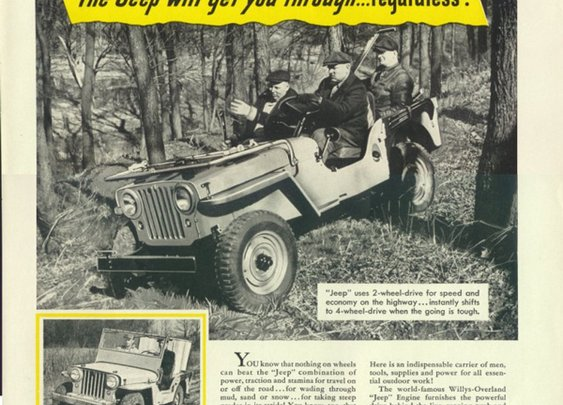 Vintage Willys Jeep Ads – 'The Jeep Will Get You Through…Regardless!'