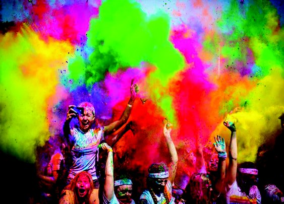7 Paint Runs You Can't Miss
