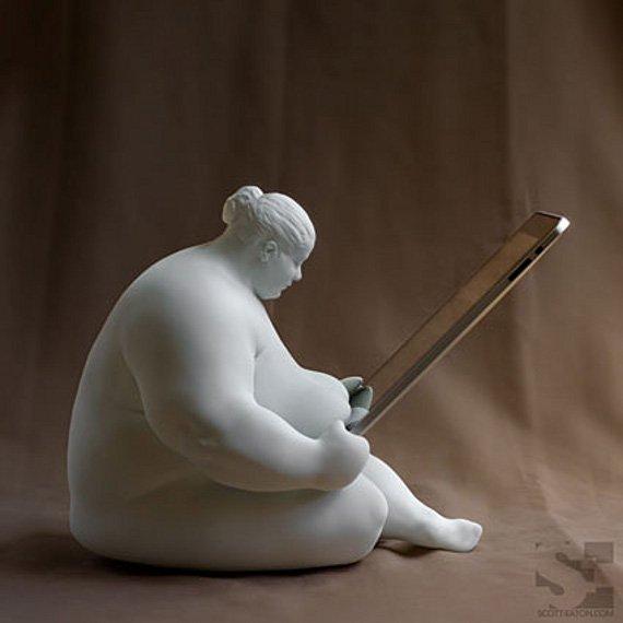 Venus of Cupertino iPad Docking Station | Incredible Things