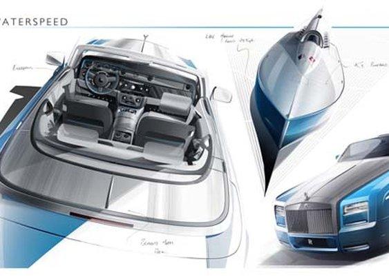 Rolls Royce Phantom Drophead Coupe Bespoke Waterspeed Collection