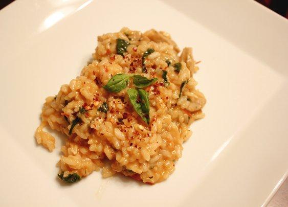 chicken sausage risotto - rotio/food