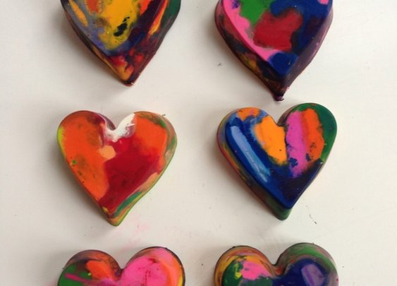 How to Make Heart Crayons and Have Some Fun With Your Kid - Snapguide
