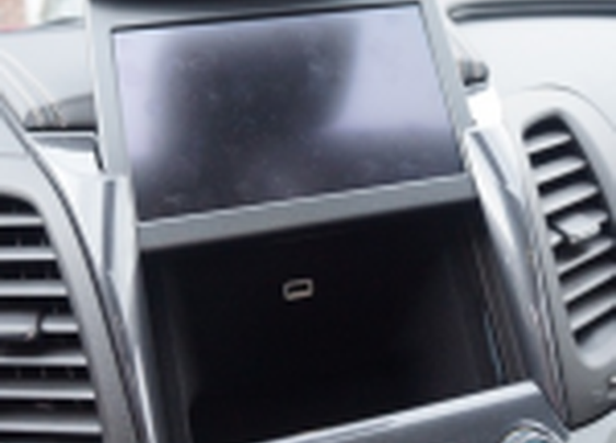 Secret Compartment Behind Touchscreen in Car | StashVault