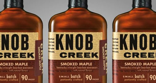 Knob Creek Smoked Maple Bourbon Whisky | Baxtton
