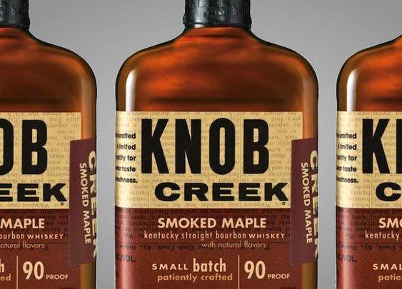 Knob Creek Smoked Maple Bourbon Whisky | Baxtton