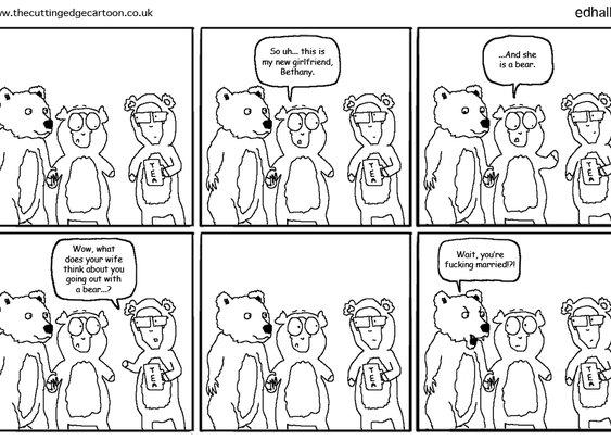 The affair bear | The Cutting Edge