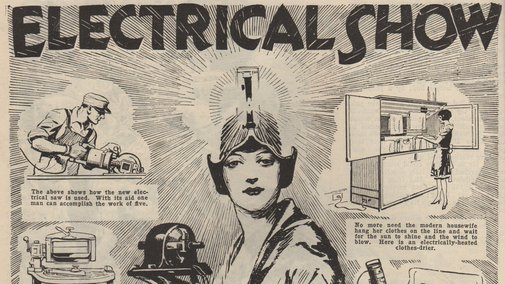 17 High-Tech Gizmos From 1927's Version of CES