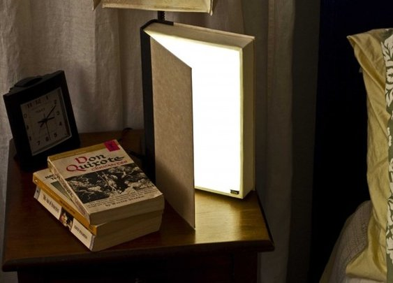 How To: Not Your Ordinary Book Light. - Grathio Labs - StumbleUpon