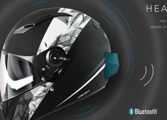 Headway turns an entire helmet into a speaker