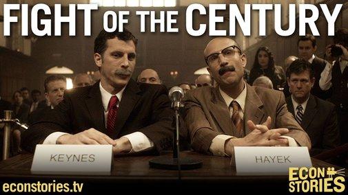 Fight of the Century: Keynes vs. Hayek Round Two - YouTube