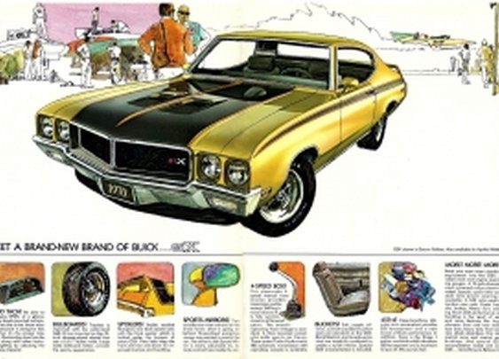 Musclecars You Should Know: 1970 Buick GSX