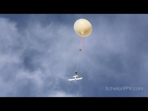 Penguin FPV Balloon Release - YouTube