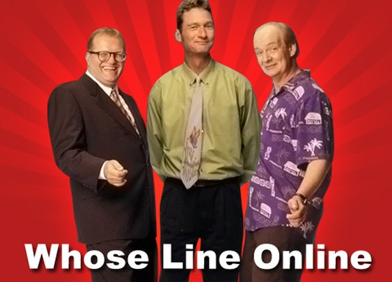 Whose Line Online - Watch Whose Line Is It Anyway Online!