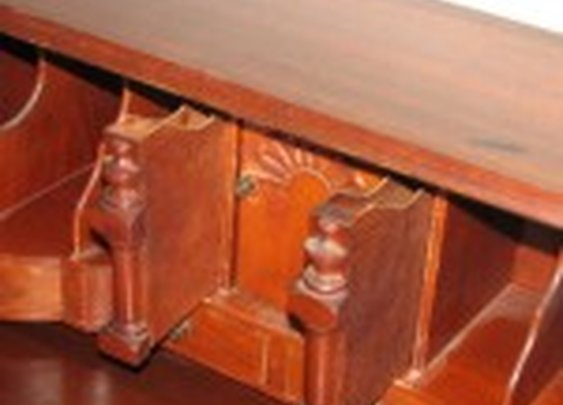 Antique Desk with Secret Compartments | StashVault