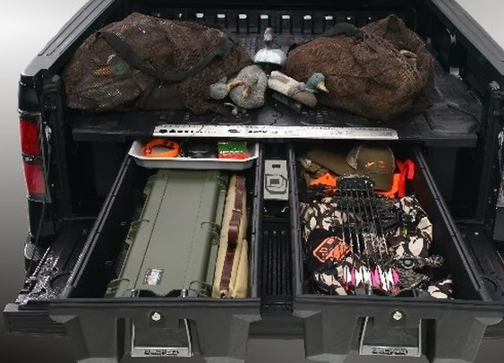 DUCKED TRUCK BED ORGANIZER