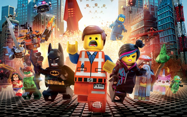Movie Reviews from an 8 Year Old - The Lego Movie : 101 or Less