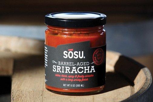 Sosu Sriracha - Fermented Hot Sauce In Whiskey Barrels